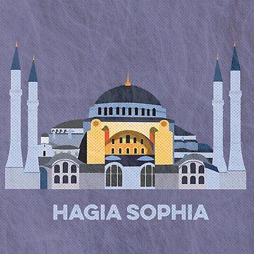 Hagia Sophia by ToriTori