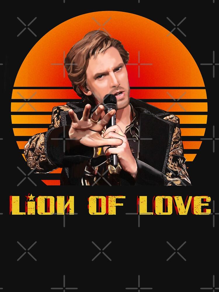 Lion of Love Fire Saga Alexander Lemtov Eurovision Russia by GabriellaParadi
