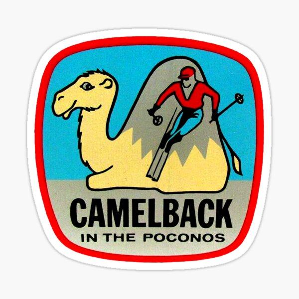Camelback in the Poconos Vintage Travel Decal Sticker