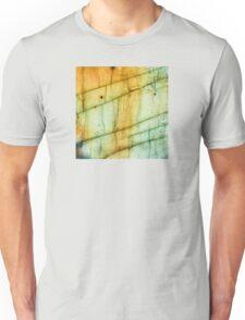Labradorite Crystal Gemstone Macro Unisex T-Shirt