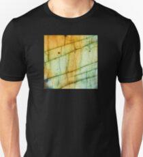 Labradorite Crystal Gemstone Macro T-Shirt
