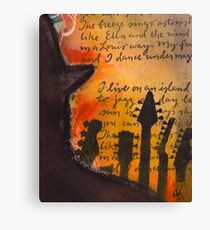 Ode to Ella and Satchmo  Canvas Print