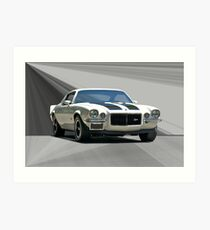 1970 Camaro Z28 Art Print