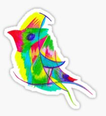 Bird of Paradise by Emily Laird Sticker