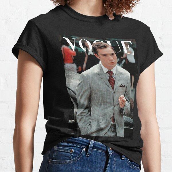 VOGUE: chuck bass Camiseta clásica