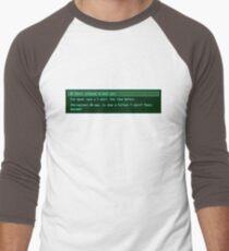 The Conversation Starter Men's Baseball ¾ T-Shirt
