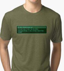 The Conversation Starter Tri-blend T-Shirt