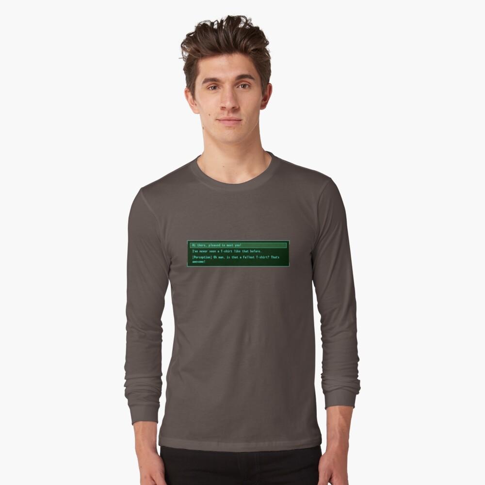 The Conversation Starter Long Sleeve T-Shirt Front