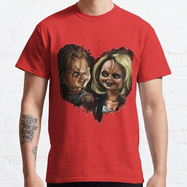 Chucky et Tiffany Love T-shirt classique