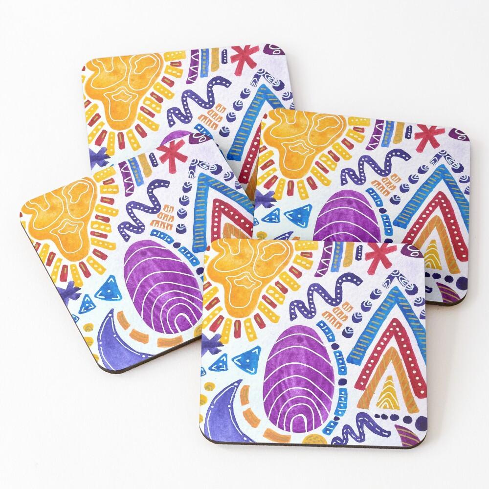 Sunset Sandwich (vertical) Coasters (Set of 4)