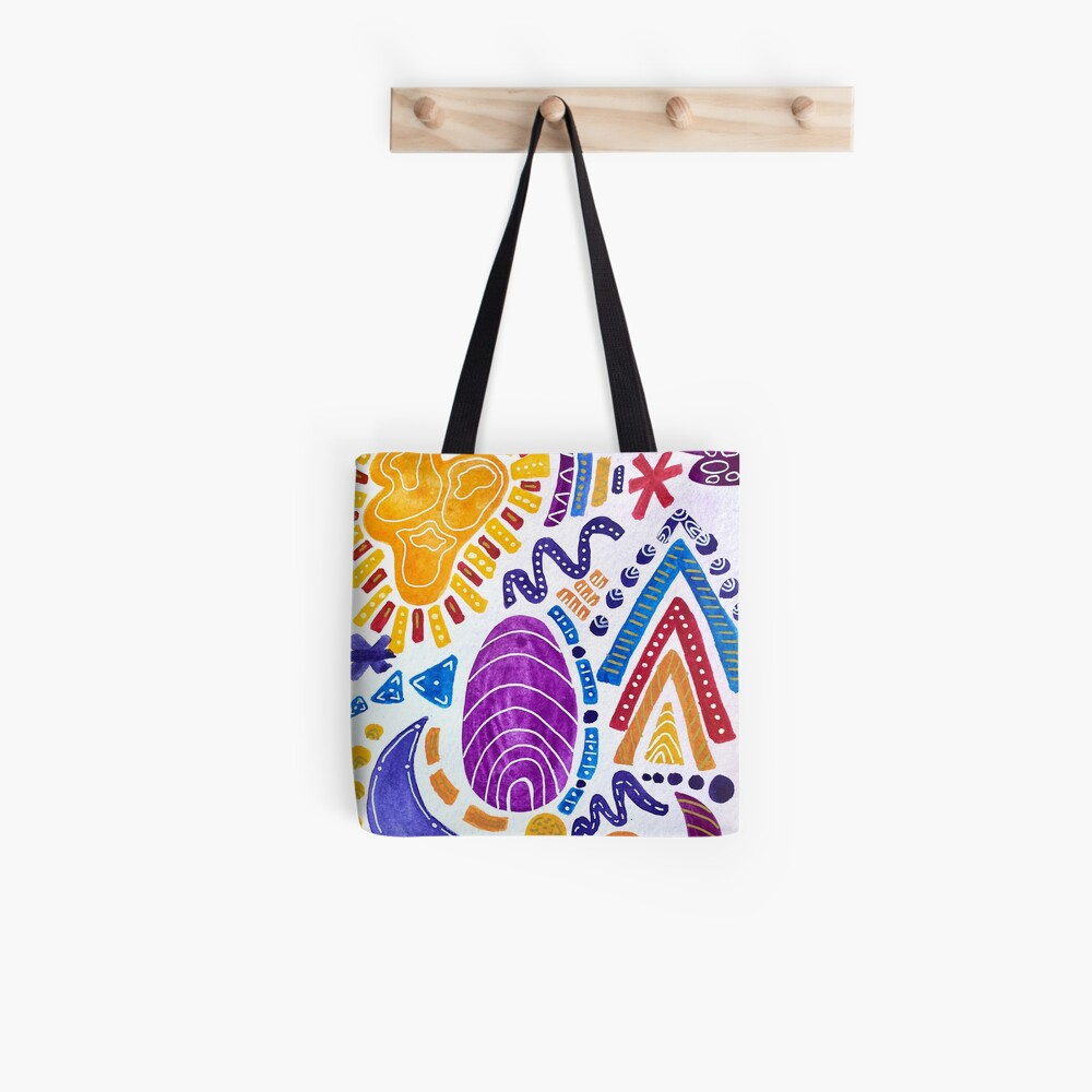 Sunset Sandwich (vertical) Tote Bag