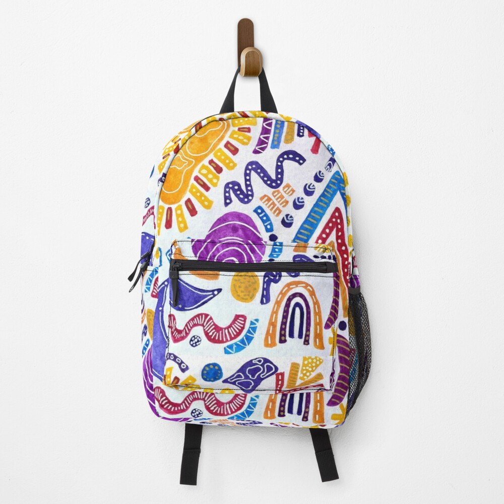 Sunset Sandwich (vertical) Backpack