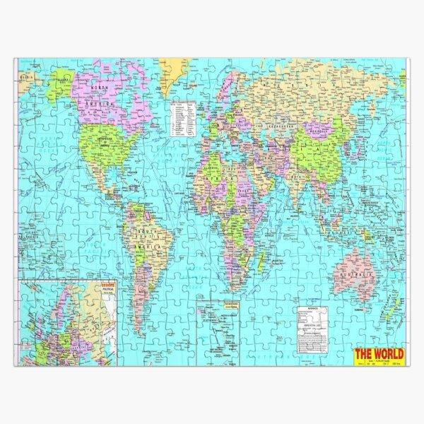 #World #Map #WorldMap Jigsaw Puzzle