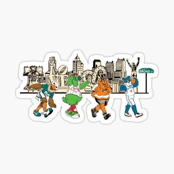 Philly Sports Sticker