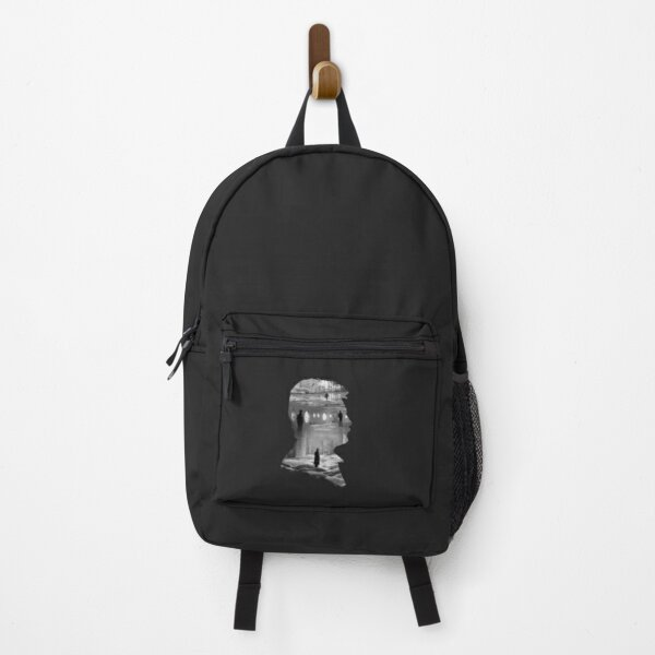 Andrei Tarkovsky Silhouette Collage Backpack
