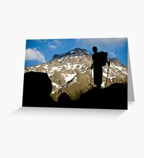 The climber II Greeting Card