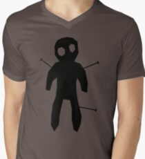 SCARY ACUPUNCTURE T SHIRT Men's V-Neck T-Shirt