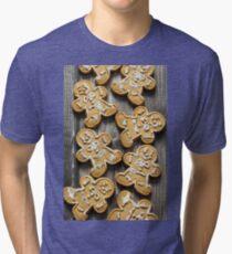 Gingerbread cookies Tri-blend T-Shirt