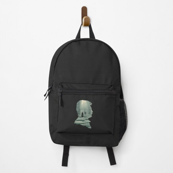 Copy of Andrei Tarkovsky Silhouette Collage Backpack