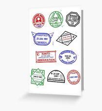 Gaming Passport Greeting Card