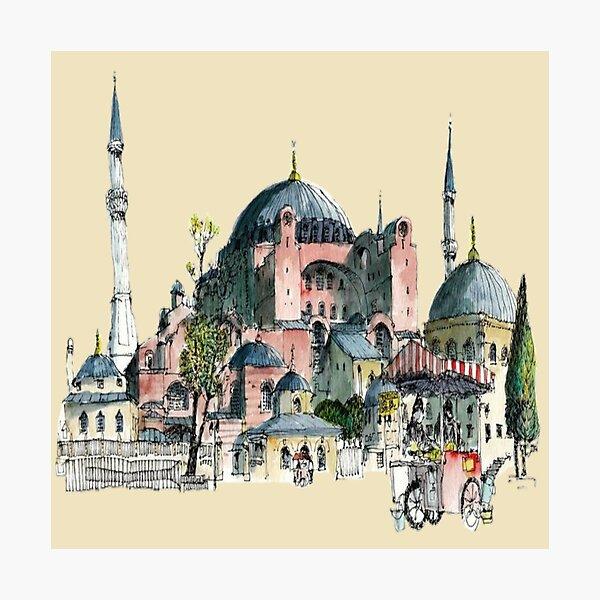 Hagia sophia 'aya sofia' Photographic Print