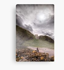 Castle ... || ... In the Sky Canvas Print