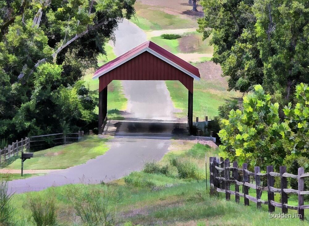 Covered Bridge by SuddenJim