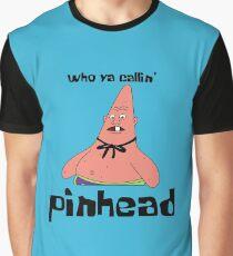 Spongebob Patrick Pinhead Larry Graphic T-Shirt