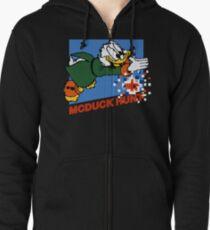 Scrooge McDuck Hunt Zipped Hoodie