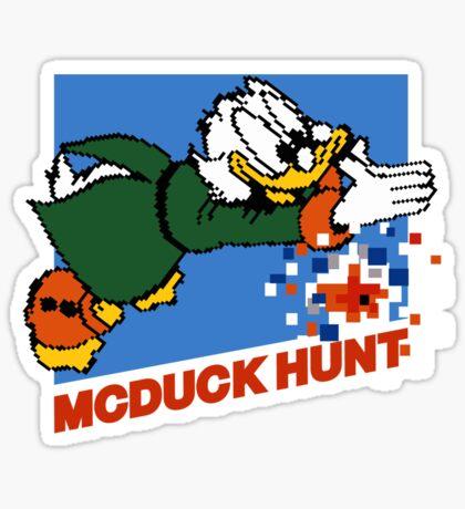 Scrooge McDuck Hunt Sticker