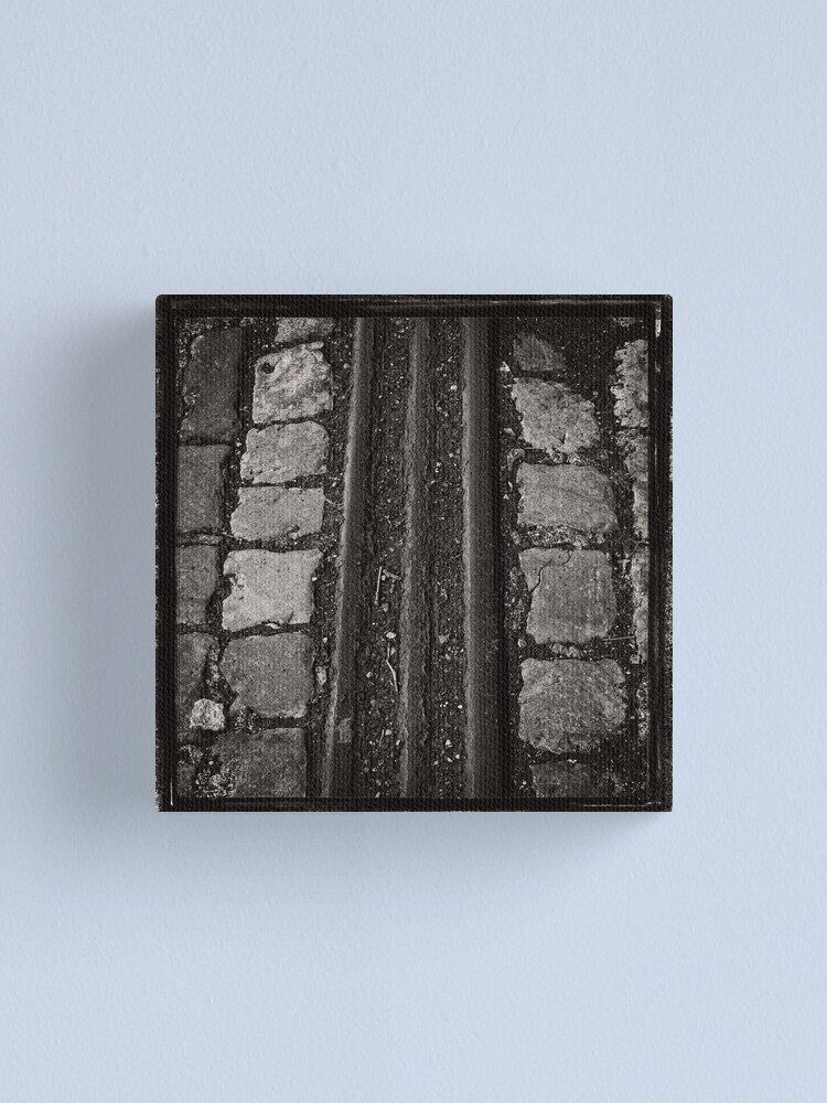 Alternate view of Making Tracks Canvas Print