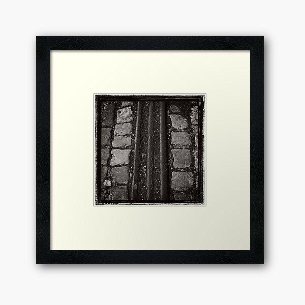Making Tracks Framed Art Print
