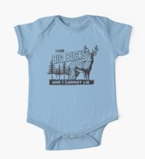 I Like Big Bucks One Piece - Short Sleeve