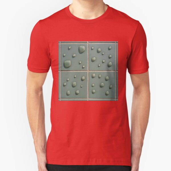 Droplets on the tiles (T-Shirt & iPhone case) Slim Fit T-Shirt