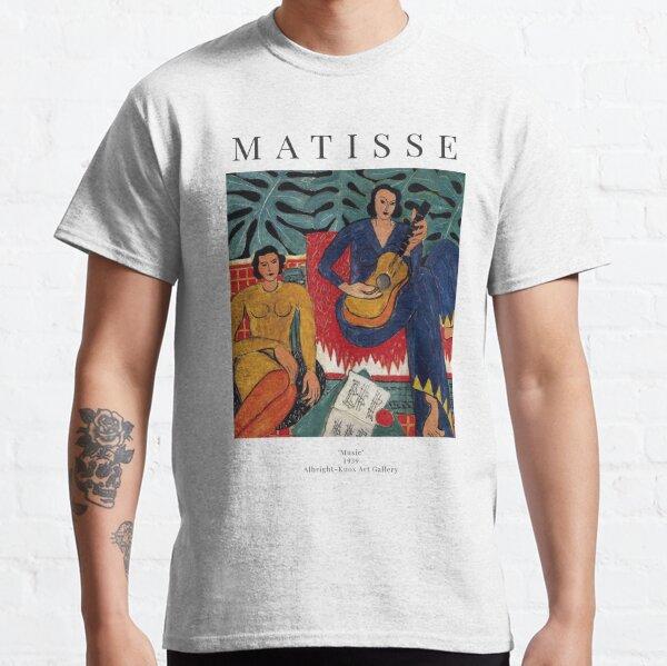 Henri Matisse - Musique - Affiche d'exposition T-shirt classique