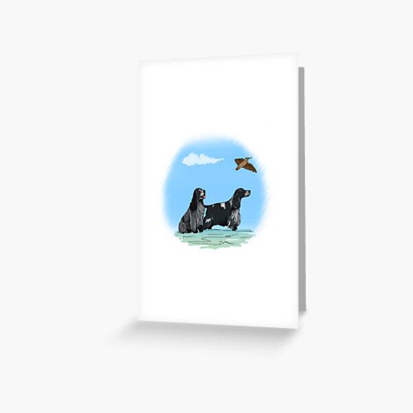 Pair of Cocker Spaniels Greeting Card