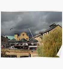 Camden's Hallowe'en storm Poster
