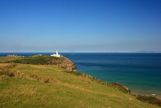 Lighthouse At Fanad by Adrian McGlynn