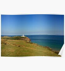 Lighthouse At Fanad Poster