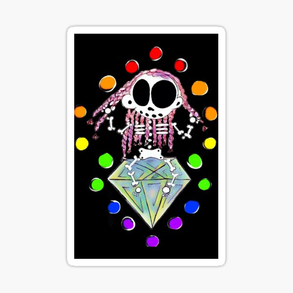 Zanoskull - Chakra Sticker