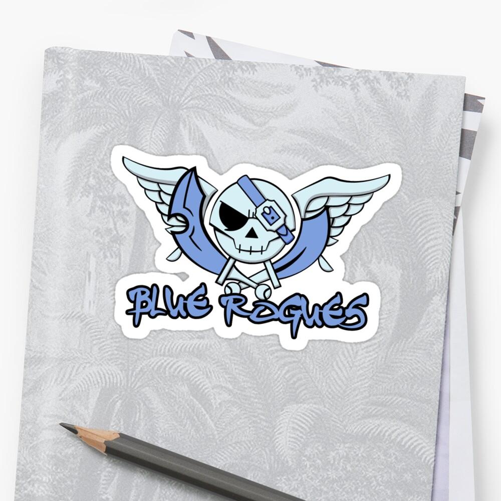 Blue Rogues by OrangeRakoon