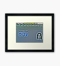 The Secret Zappa Fans Framed Print