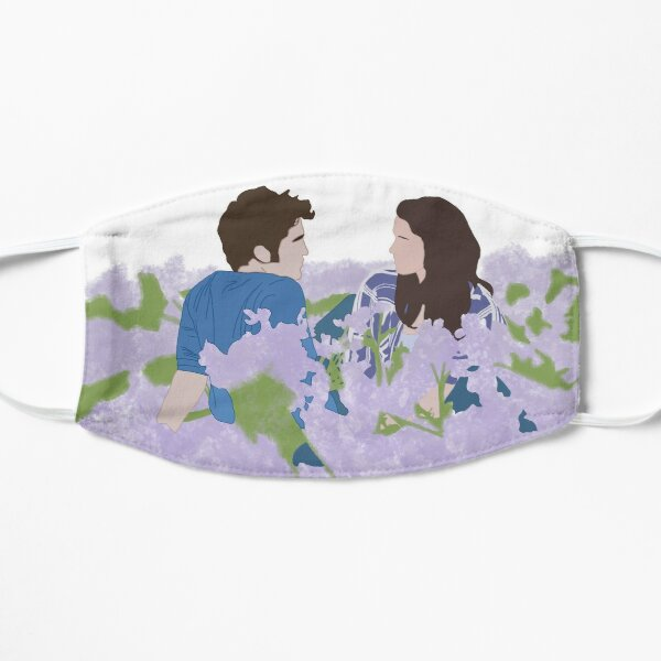 Bella and Edward in Twilight Meadow Scene  Flat Mask