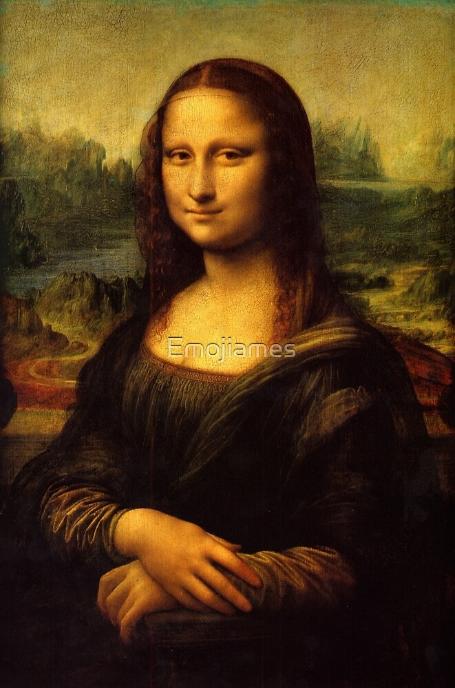 Mona Lisa HD by Emojiames