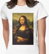 Mona Lisa HD Women's Fitted T-Shirt