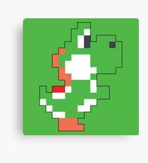 Super Mario Maker - Yoshi Costume Sprite Canvas Print