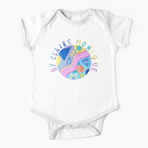 By Claire Monique Short Sleeve Baby One-Piece