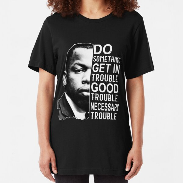 john lewis good trouble best selling2020 Slim Fit T-Shirt