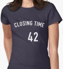 Mariano Closing Time Women's Fitted T-Shirt