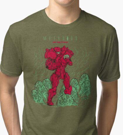 Metroids Tri-blend T-Shirt